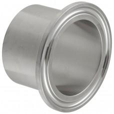 Патрубок приварной Tri Clamp 38 мм «1,5» (Удлиненный 40 мм)
