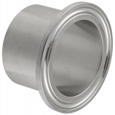 Патрубок приварной Tri Clamp 51 мм «2» (Удлиненный 40 мм)