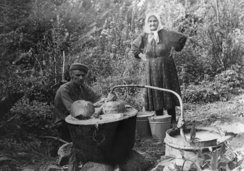 История самогона и самогоноварения