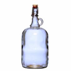 """Бутыль  """"Венеция"""" с бугельной пробкой,  2 литра"""