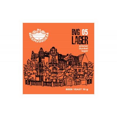 """Дрожжи Beervingem для светлого пива """"Lager BVG-05"""", 10 г"""