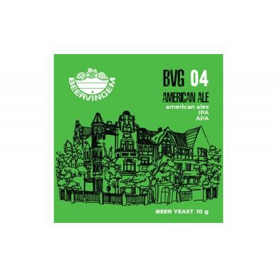 """Дрожжи Beervingem для охмеленного пива """"American Ale BVG-04"""", 10 г"""