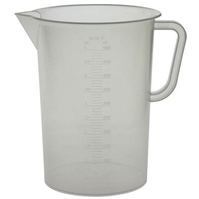 Мерный стакан пластик 5000 мл.