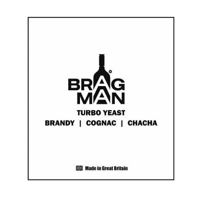 "Спиртовые дрожжи Bragman ""Brandy/Cognac/Chacha"", 60 г"