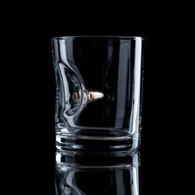 """Стакан """"Непробиваемый"""", с пулей, для виски, 250 мл"""