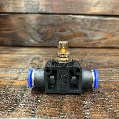 Кран игольчатый для быстросъемных соединений, 10 мм