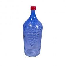 """Бутыль """"Виноград"""" 2 л синяя"""