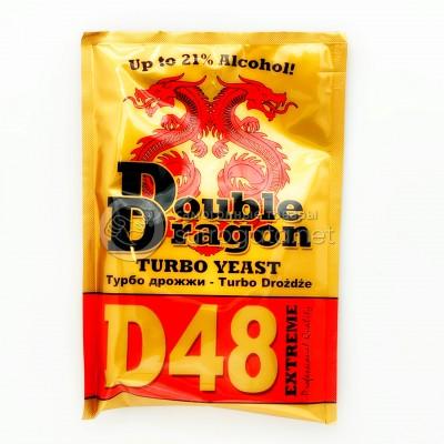 Турбо дрожжи DoubleDragon D48