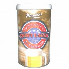 """Солодовый экстракт Muntons """"American Light Lager"""", 1,5 кг"""