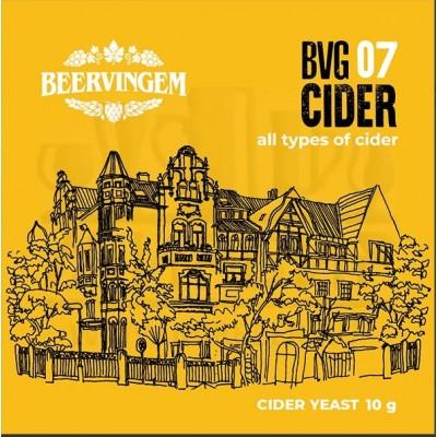 Дрожжи Beervingem для сидра «Cider BVG-07», 10 г